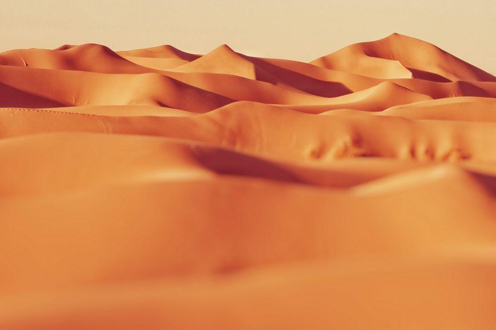 It's like a desert